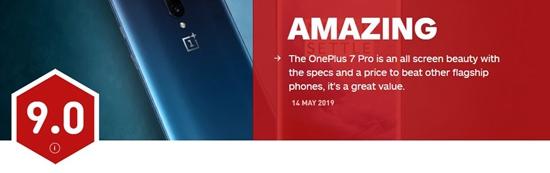 一加7 Pro海外发布!IGN评分9.0 原来IGN还评测手机的?