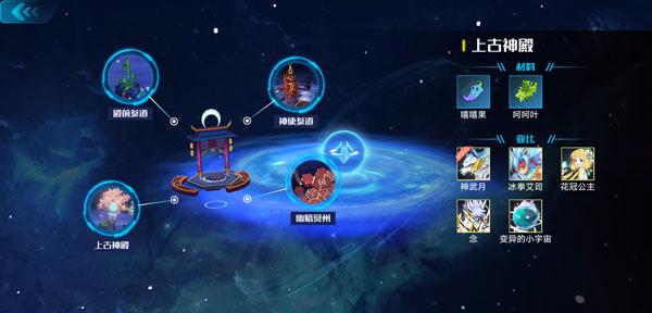奥拉星地图资源和亚比分布情报奥拉星手游上古神殿