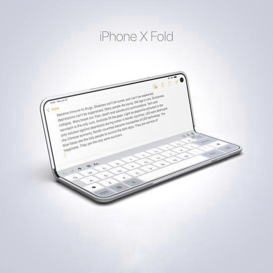 iphone折叠屏