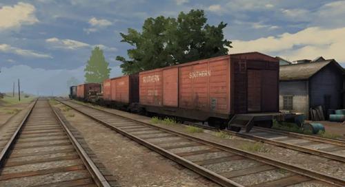 明日之后红杉镇火车资源 红杉镇火车攻略