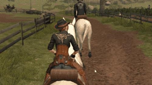明日之后骑马