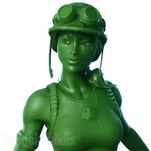 堡垒之夜V9.20皮肤曝光 绿色兵人双手鹤嘴镐