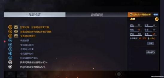 CF手游M4A1竞技战魂评测