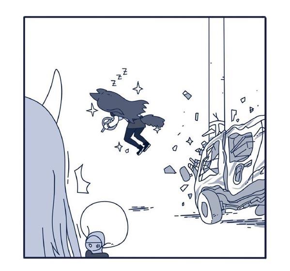 明日方舟漫画合集6 开车听歌德克萨斯