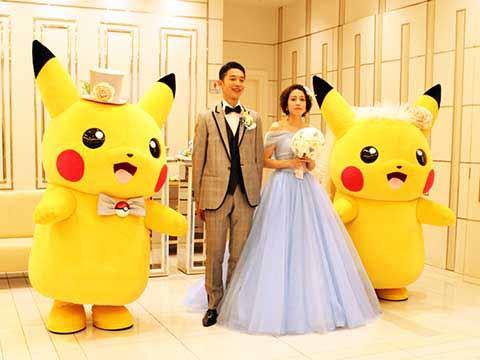 皮卡丘 婚礼