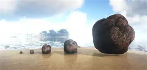 《方舟:生存进化》里的不同生物的便便大小