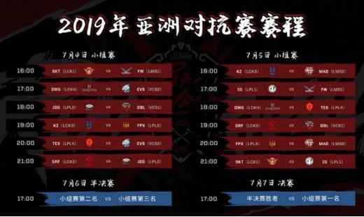 亚洲对抗赛风云再起 看洲际赛请锁定虎牙直播