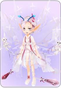 小花仙白幽灵套装