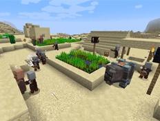 我的世界村庄保卫战怎么玩