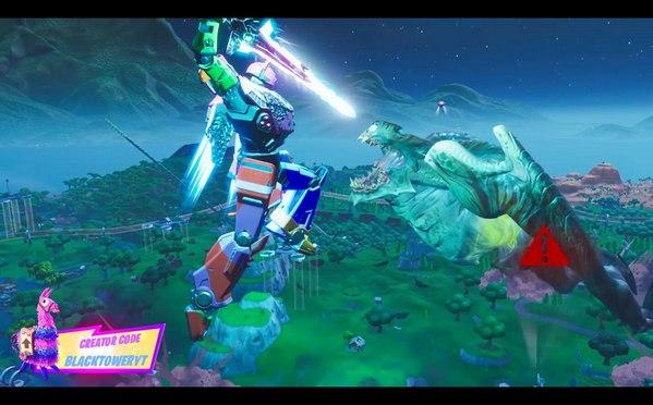 堡垒之夜第九赛季全球事件梳理 机器人大战怪兽