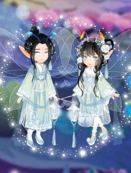小花仙银烛夜织套装