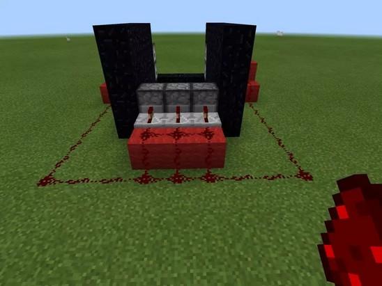 我的世界TNT大炮怎么做