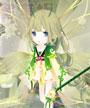 小花仙花瓣秀清新绿色-4399宇智波狂三