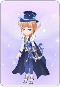 小花仙幻蓝天琴套装