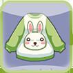 天黑請閉眼綠兔兔服