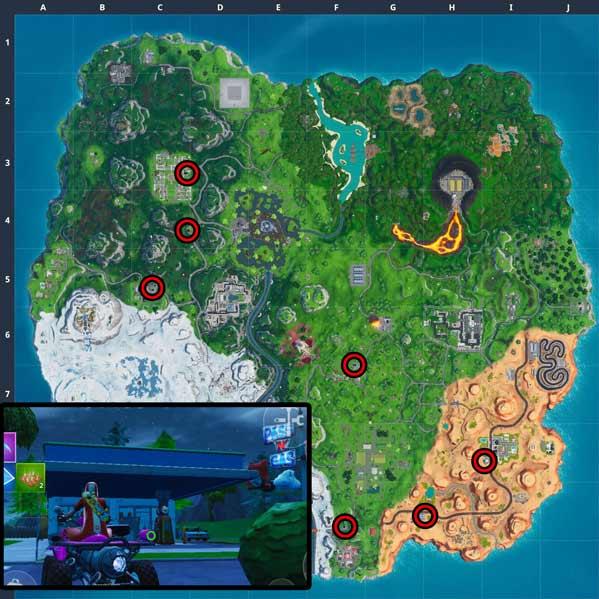 堡垒之夜第X赛季彩绘扫射任务 第十赛季彩绘扫射挑战汇总