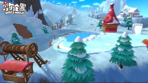 摩尔庄园手游首个场景曝光—拉雅雪山