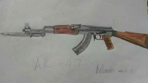 ÉúËÀ¾Ñ»÷Íæ¼ÒÊÖ»æ-AK47-A