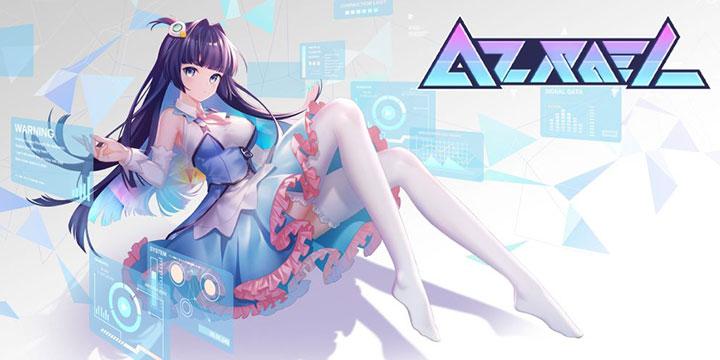 二次元独立音乐游戏《AZRAEL》,如何用音乐救助未来社会的可爱小姐姐