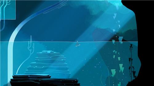 《GRIS》这个游戏好看到每一帧都能够当壁纸
