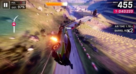 赛车游戏永远是对速度不满足的人最好的加速剂