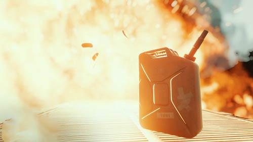 燃料油桶可爆机制