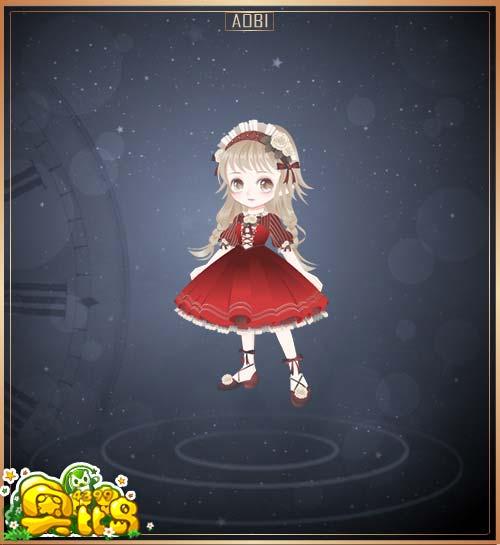 奥比岛舞会公主装图鉴
