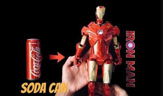 可乐钢铁侠