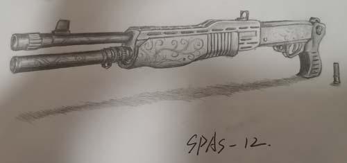 ÉúËÀ¾Ñ»÷Íæ¼ÒÊÖ»æ-SPAS-12