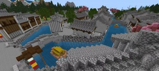 我的世界最美村庄