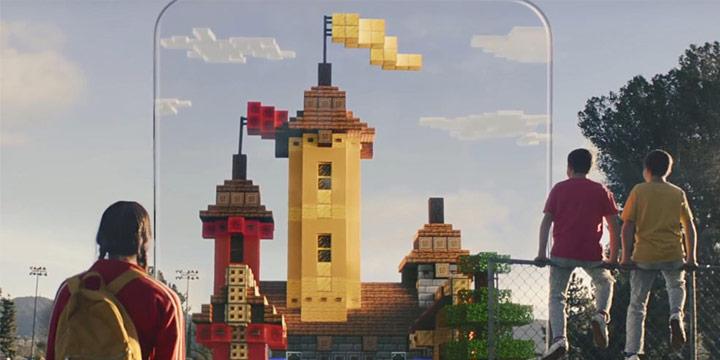 《我的世界:地球》已在中国海外开启安卓测试,当现实与方块世界重叠