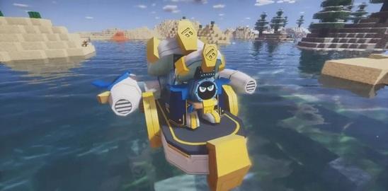 我的世界赛尔号:制霸神秘海