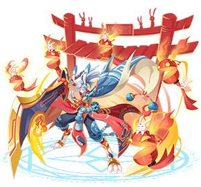 奥奇传说天启月火兔神