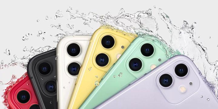 六色炫彩,最低5499,这样的iPhone 11你心动了吗