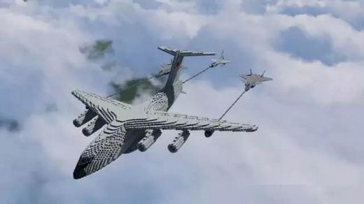 你甚至可以在《我的世界》里开飞机