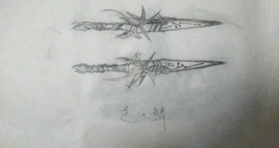 CF手游手绘 四款武器精彩画作
