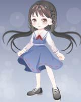 奥比岛灵动少女校服装图鉴