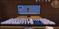 迷你世界微缩电脑键盘怎么做