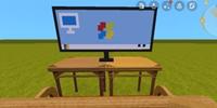 迷你世界微缩电脑屏幕怎么做