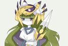 洛克王国绘画之豹星猎姬