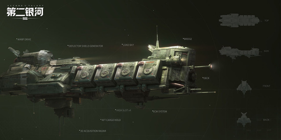 第二银河镰刀级舰船搭配