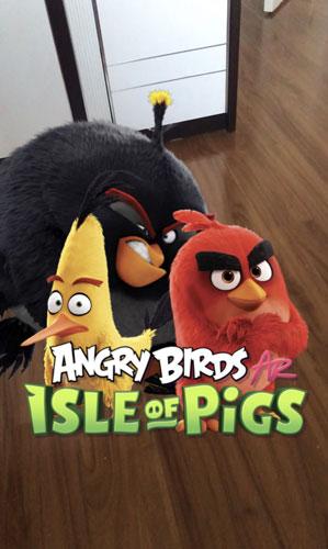 愤怒的小鸟AR