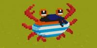 迷你世界螃蟹微缩模型制作攻略