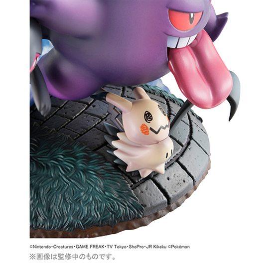 MegaHouse发布全新宝可梦手办!这次是幽灵系组合