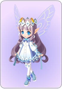 小花仙阁楼上的少女/王子套装