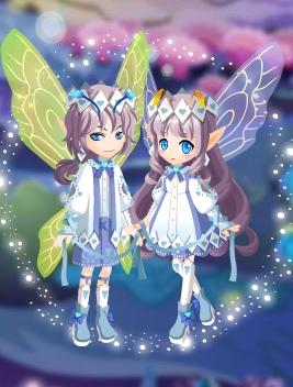 小花仙阁楼上的少女/王子套装3