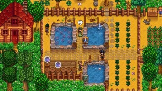 《星露谷物语》11月26日更新鱼塘系统 来来,我为你承包了整个鱼塘