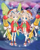 小花仙旅行樱桃套装 甜