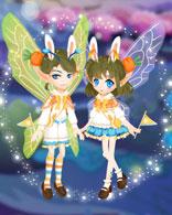 小花仙兔耳胡萝卜套装
