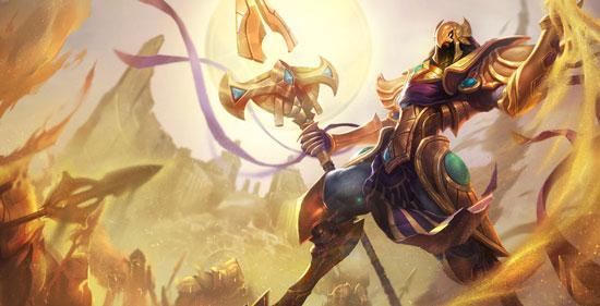 英雄联盟手游沙漠皇帝